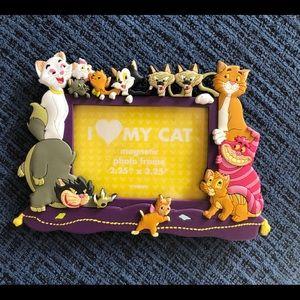 "Disney ""I Love My Cat"" Magnetic Frame NWOT"